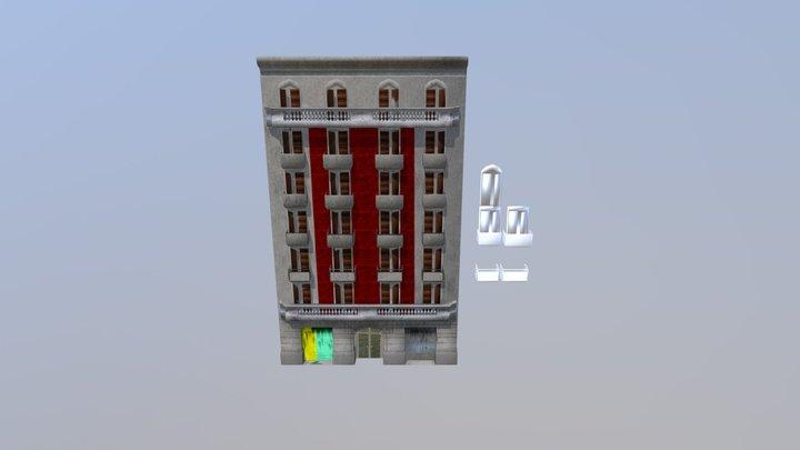 Fachada _ Barspin 3D Model