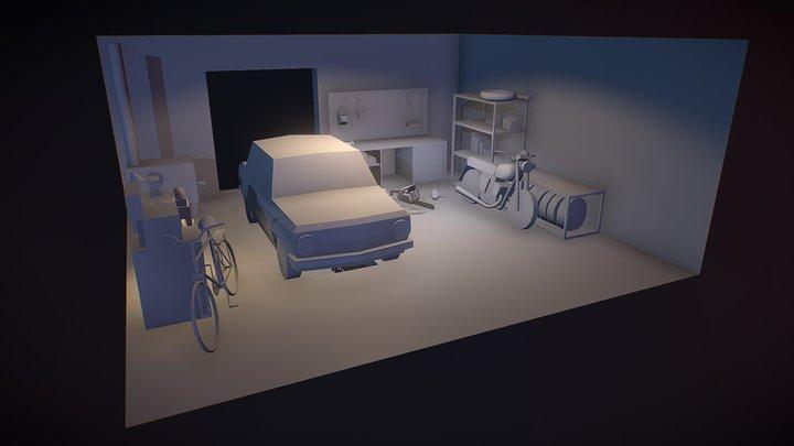 Bloсking (10 objects) [XYZ HOMEWORK] 3D Model