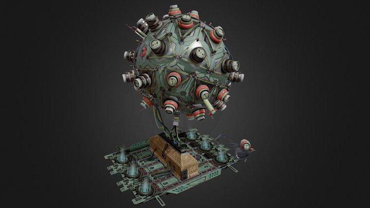 Doritosphere 3D Model
