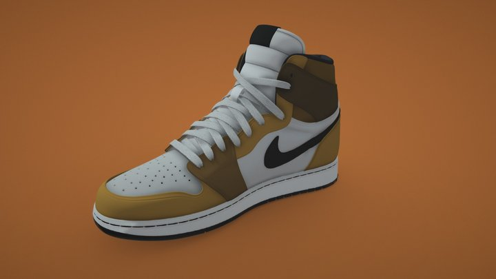 Nike Air Jordan 1's 3D Model