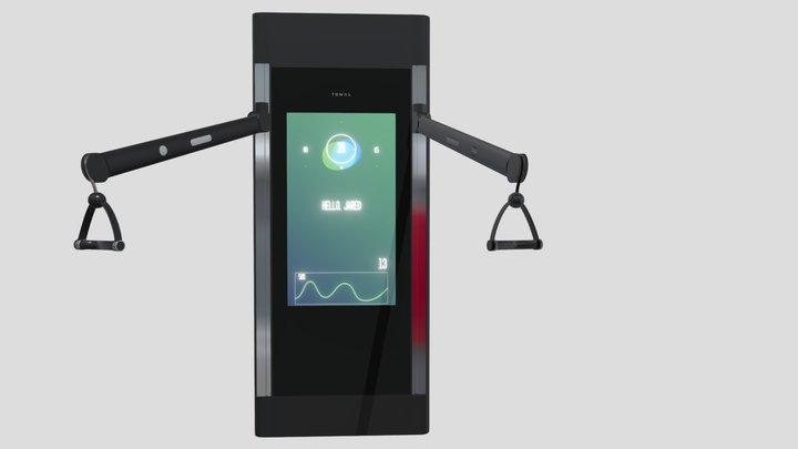 Tonal Smart Home Gym 3D Model