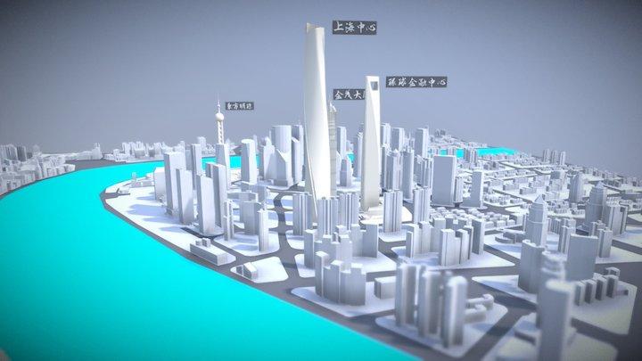 City- Shanghai-Sandboxie 3D Model