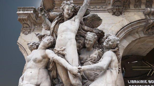 """""""La Danse"""" in Opera House of Paris 3D Model"""