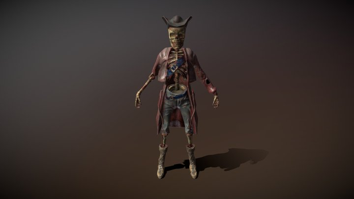 Pirate Sculpt 3D Model