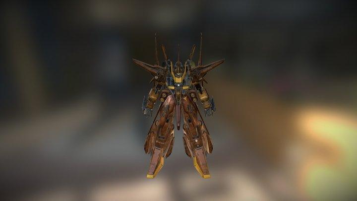 Gundam Bawoo Ver KA 3D Model