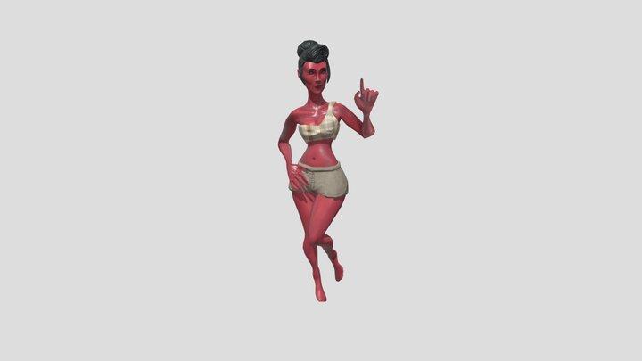 Full Body Pose 3D Model