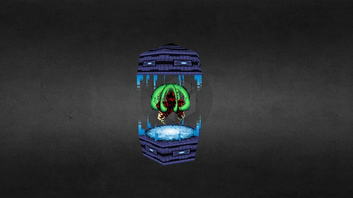 Vailias VG Remix - Metroid Baby 3D Model