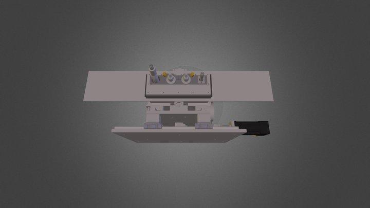 CNC Slotter Tables 3D Model