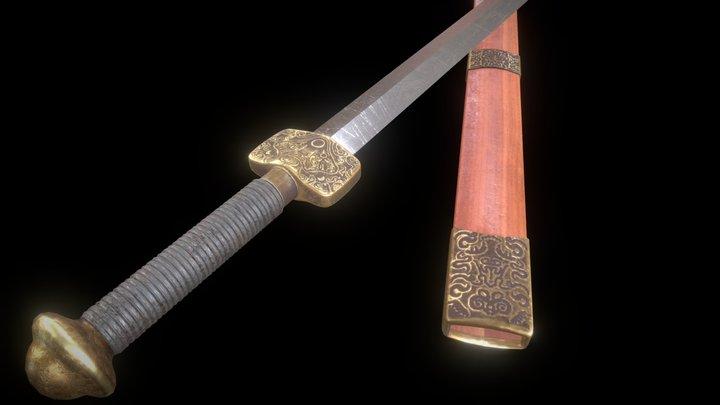 HIE Sword J2 3D Model