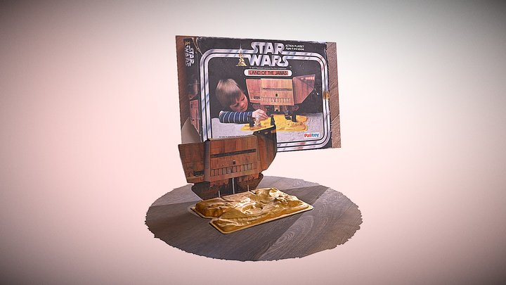 Land of the Jawas - Palitoy - Star Wars 3D Model