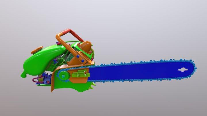 Lptroneuv 3D Model