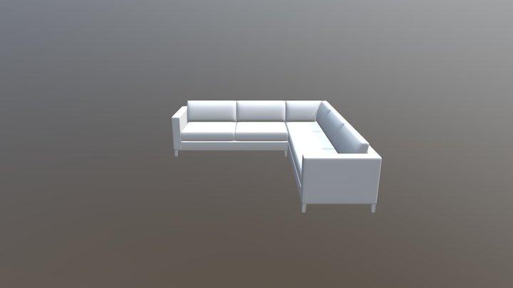 Slettvoll Caspian Sectional Soffa 3D Model