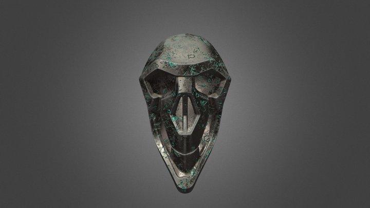 Bronze Skull 3D Model
