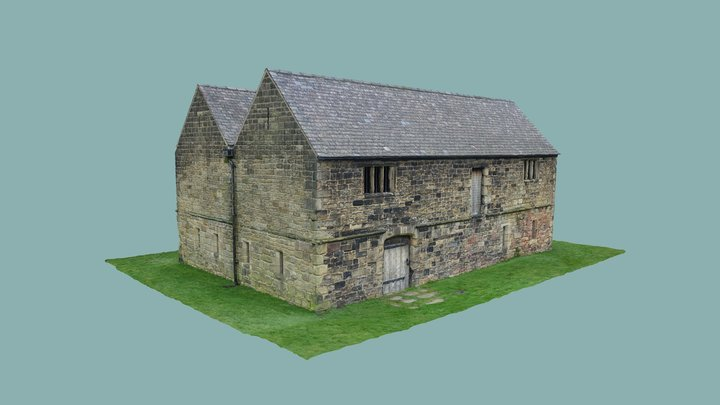 Monk Bretton Priory, Administrative Building 3D Model