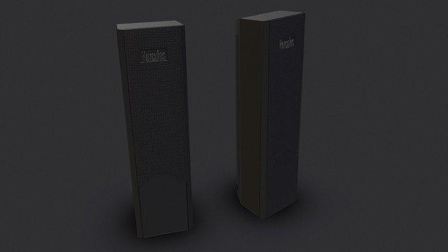 Hercules Speaker 3D Model