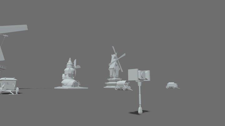 XYZ HW3 3D Model