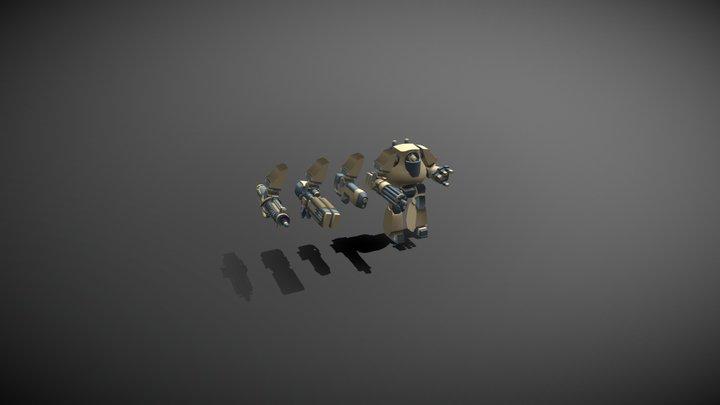 Contemtor Dreadnought 3D Model