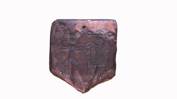 Pilgrim's Medal Mould 3D Model