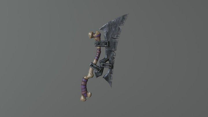 Orc Axe 3D Model