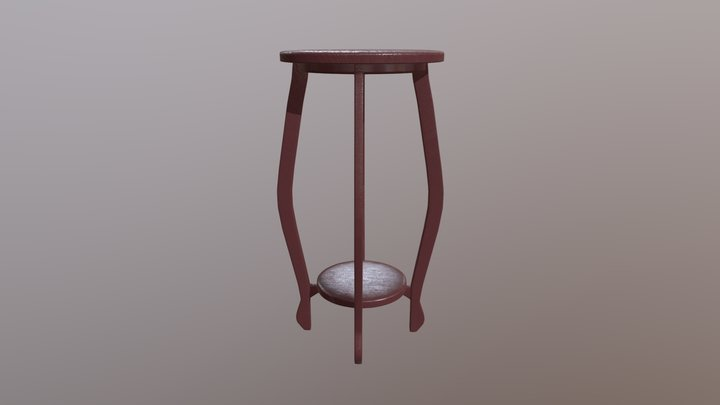 living room furniture / Mueble de sala 3D Model