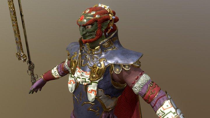 Ganondorf Dragmire - The Legend of Zelda 3D Model