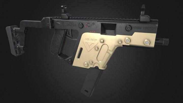 Kriss Vector 3D Model