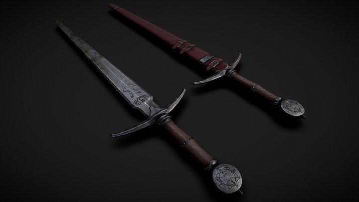Blackwater Blade (Skyblivion) 3D Model