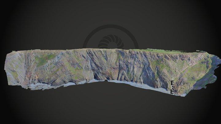 Hartland Quay, Cornwall 3D Model