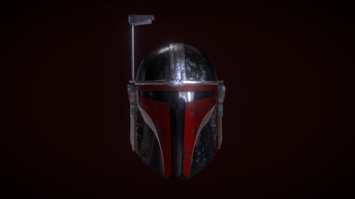 Star Wars Mandalorian Helmet 3D Model