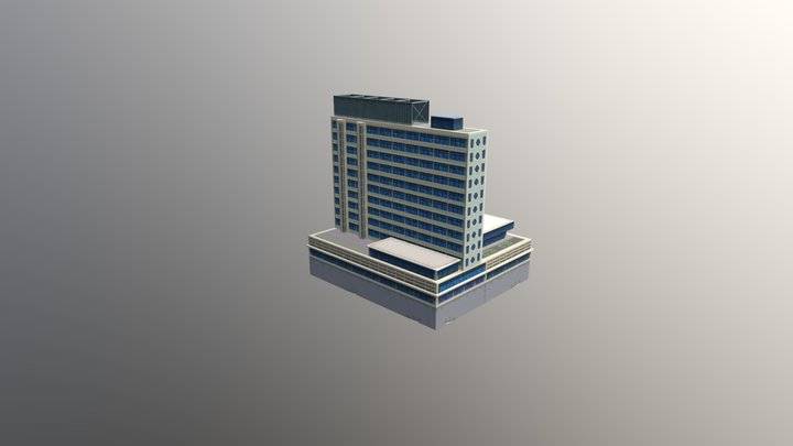 National Center Tower 3D Model