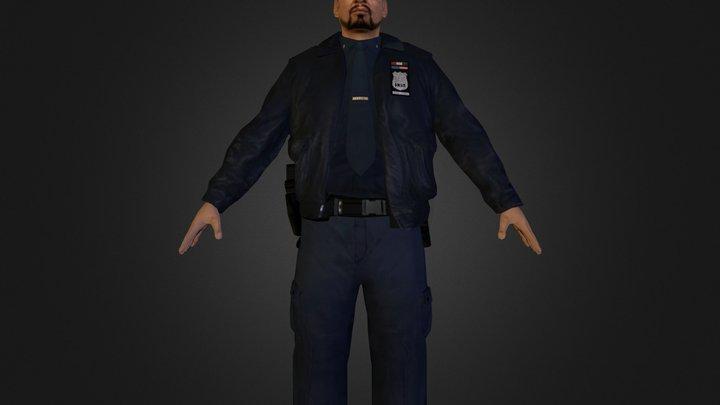 Cop.zip 3D Model