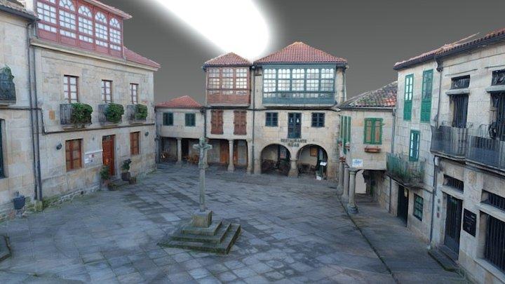 PRAZA DE A LEÑA. PONTEVEDRA 3D Model