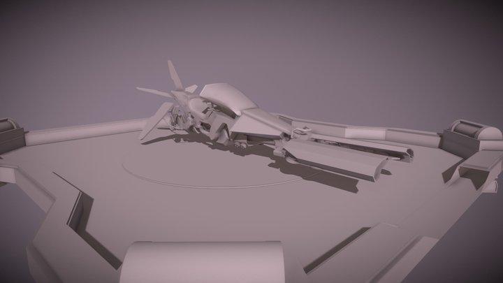 Pulsar Van Bergen A. - B3A1 - 06 Mars 3D Model