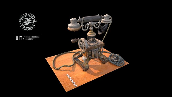 L. M. Ericsson Telephone from 1892 3D Model