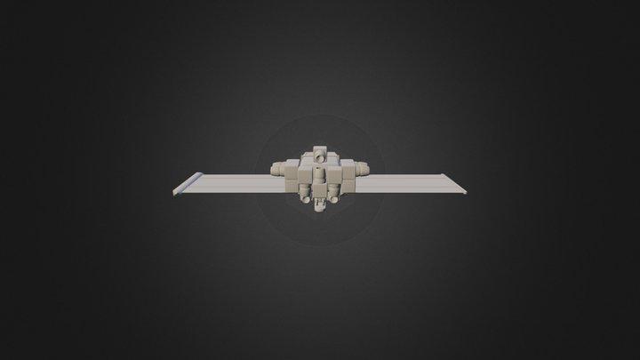 Küçük Gemi 6342 Obj Files 3D Model