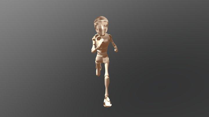 Run Cycle 3D Model