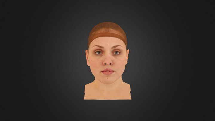 3D Scan - Simona - Cleaned - Relax 3D Model