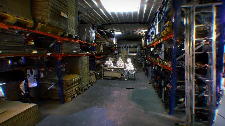 De Industrie: Henny, de jointroller 3D Model