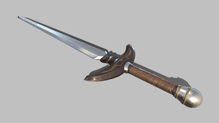 Sword LP 3D Model