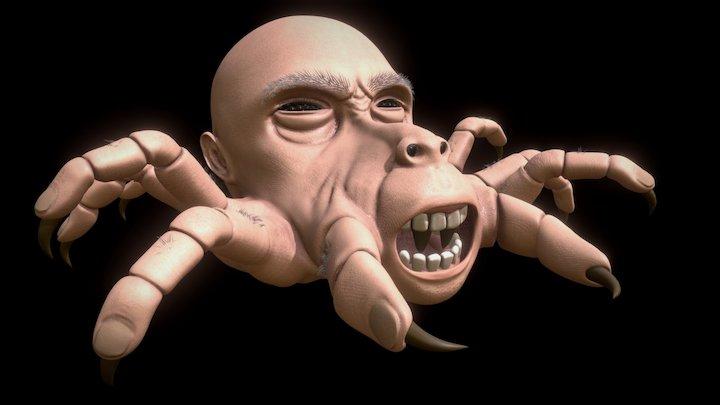 Arachnaphobia - 3D Character 3D Model