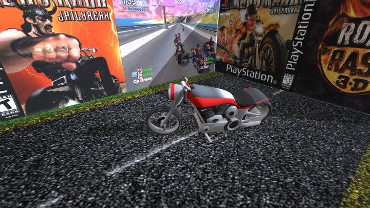 Moto Conceito - Road Rash Jailbreak. 3D Model