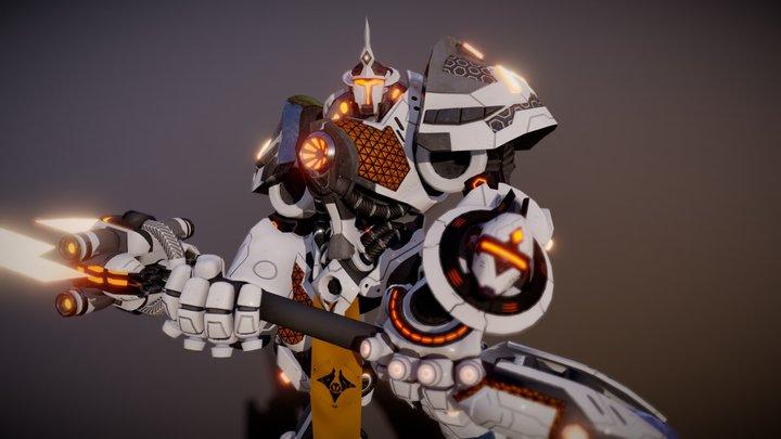 Overwatch - Reinhardt purifier 3D Model
