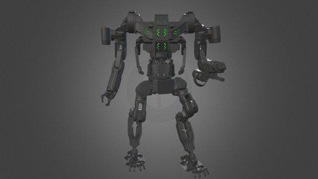 THOR G2 WIP 3D Model