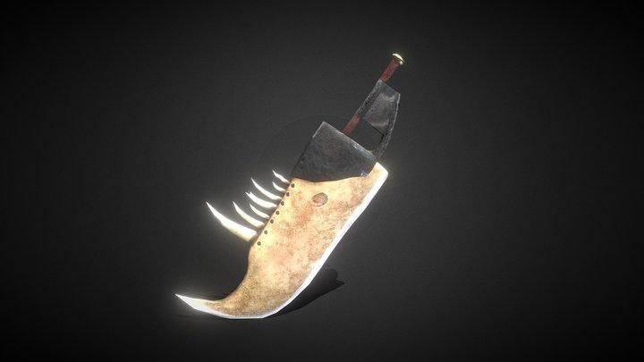 Fujindicator - Jawbone Great Sword 3D Model