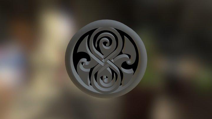Seal of Rassilon Final 3D Model