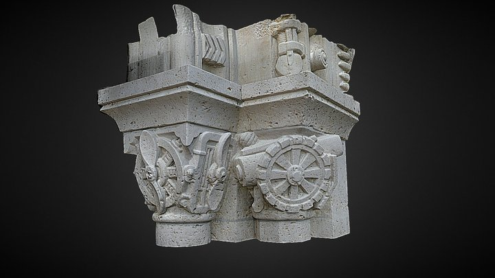 Capital Detail 2 3D Model
