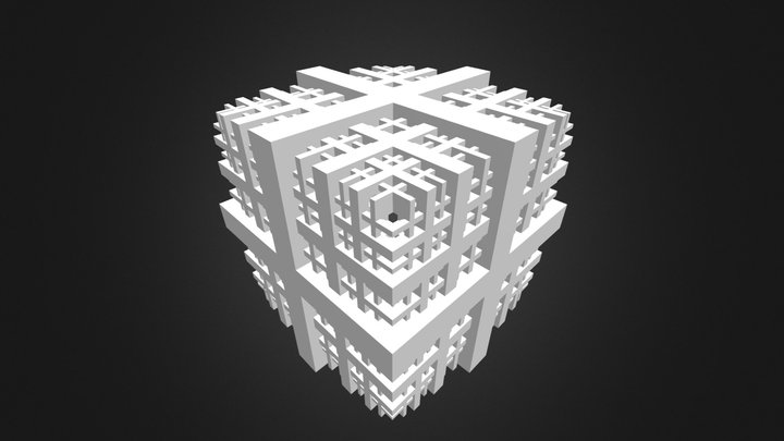 Fractal 04 3D Model