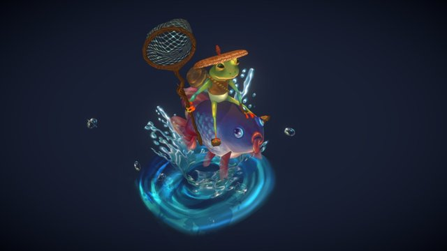 The Fly Catcher 3D Model