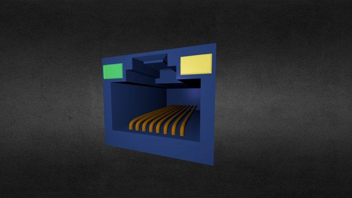Port Material Test 3D Model