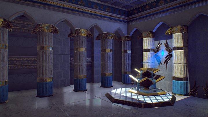 Templo das Eras - Modular 3D Model